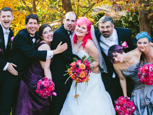 Offbeat Wedding Party